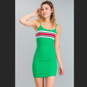 Veronica Dress in Green